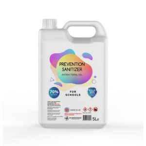 Prevention Sanitizer Antibacterial Hand Gel 5L