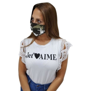Washable Reusable Cotton Camouflage Face Mask